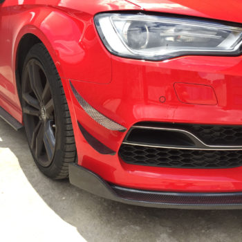 RS Style Canards | 2014-2016 Audi S3
