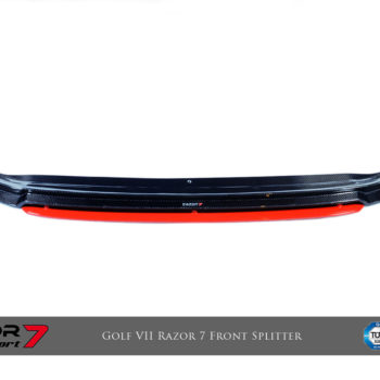 Stage I:Razor 7 CF Front Splitter, CF Front Canard, CF Side Skirt, Rear Bumper, CF Rear Diffuser with 3D Underspoiler