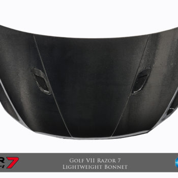 Razor 7 Lightweight Bonnet (Single Sided Carbon) - (Matt Dry Internal Carbon)