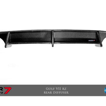 Razor 7 RZ Rear Diffuser (CF) (for original bumper)