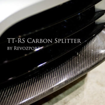 TT-RS Carbon Front Bumper Splitter (2 pcs set) (2010)