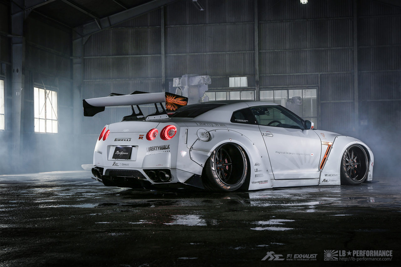 Insane R35 Gtr Equipped Fi Exhaust X Libertywalk Bodykit