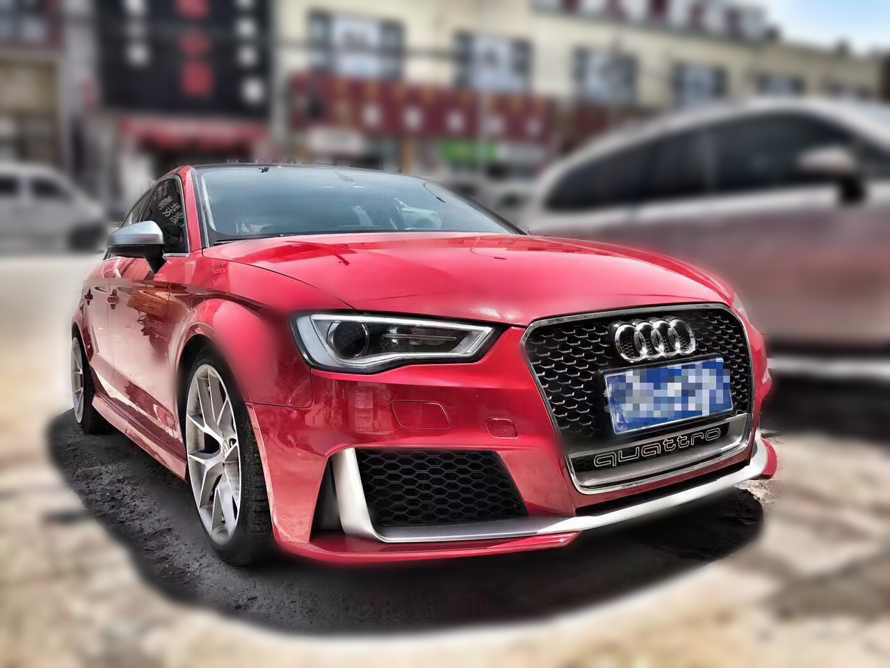 audi 2014 2016 a3 s3 to rs3 front rear bumper conversion. Black Bedroom Furniture Sets. Home Design Ideas