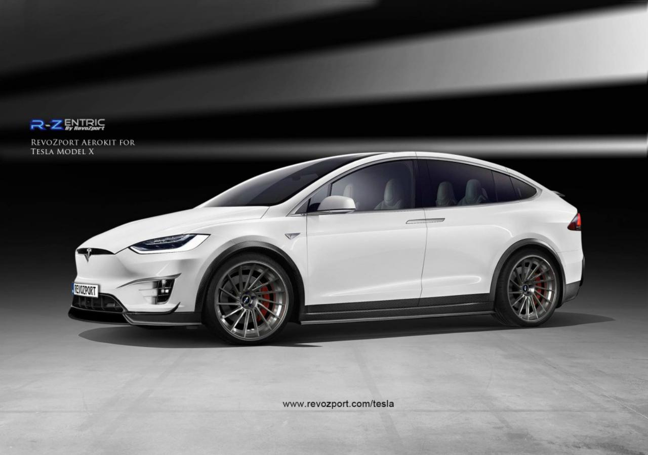 2017 Tesla Model X R Zentric Complete Body Kit
