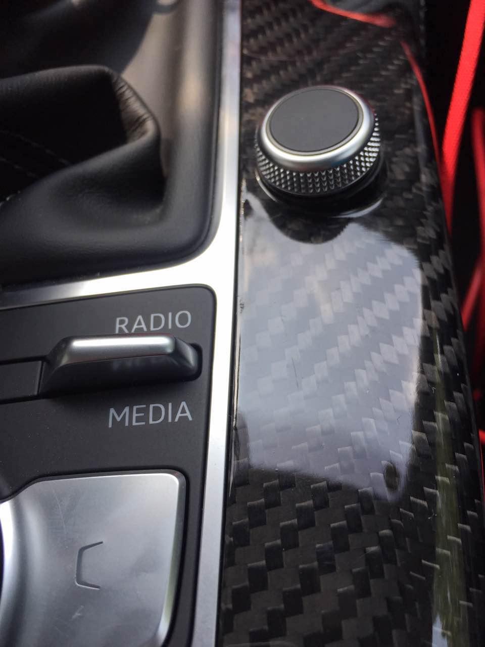 Audi A3 S3 Rs 8v Interior Carbon Fiber Trim Upgrade Kit