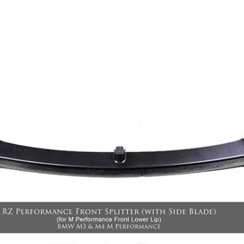 M3/M4 RZ Performance Front Lower Splitter (with Side Blade)