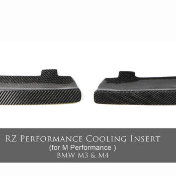 M3/M4 RZ Performance Front Splitter Intake Duct (Pair)