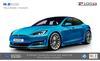 Tesla Model S (facelift) R-Zentric Fender & Side Skirt Kit (FRP)